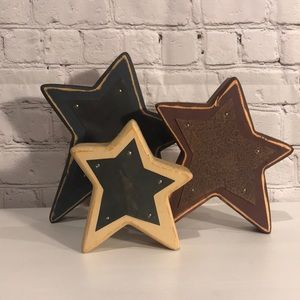Other - Decorative wood stars - perfect for the 4th!